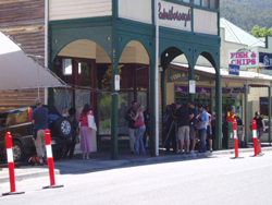 Film Set on the Main St, Warburton